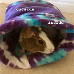 Guinea Pig/Small Pet Anti-Pill Fleece Tunnels